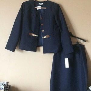 Dresses & Skirts - Navy blue 2 pc
